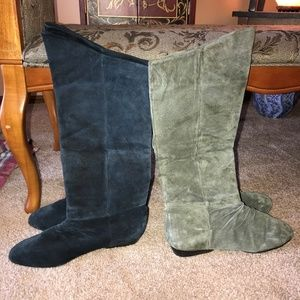 2 Pair Classiques Tall Leather Boots